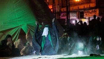 مراسم خیمه سوزان در اهواز +تصاویر