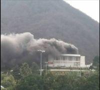 سینما هتل رامسر در آتش سوخت +عکس