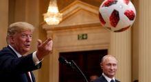 توپ بازی ترامپ و پوتین در نشست خبری +تصاویر