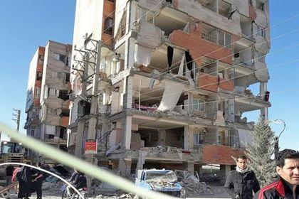 خسارات وارده به مسکن مهر سرپل ذهاب +تصاویر