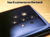 جدیدترین گوشی نوکیا با پنج دوربین!