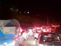 ترافیک نیمه سنگین در محورهای هراز و فیروزکوه