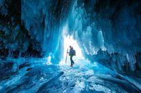قندیلهای یخی عظیم عکس روز نشنال جئوگرافیک +عکس