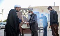 مراسم عزاداری شهادت امام جعفرصادق(ع) در یزد +عکس