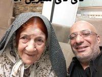 امیرجعفری عزادار شد +عکس