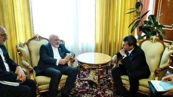 ظریف با وزیر خارجه تاجیکستان دیدار کرد /اختلافات جدی ایران با نحوه رفتار اروپا در منطقه