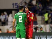 دیدار تیمهای فوتبال ایران و عراق +تصاویر