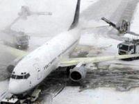 لغو پروازهای فرودگاه مشهد به علت برودت هوا