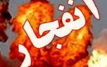 انبار سیلندرهای گاز در شیراز منفجر شد