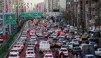 ترافیک قرمز عصرگاهی تهران
