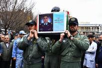 مراسم تشییع رحمانی خلبان هواپیمای میگ ۲۹ ارتش +عکس