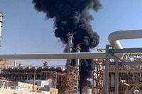 آتشسوزی حوضچه ضایعات واحد الفین پتروشیمی ایلام به صورت کامل اطفاء شد
