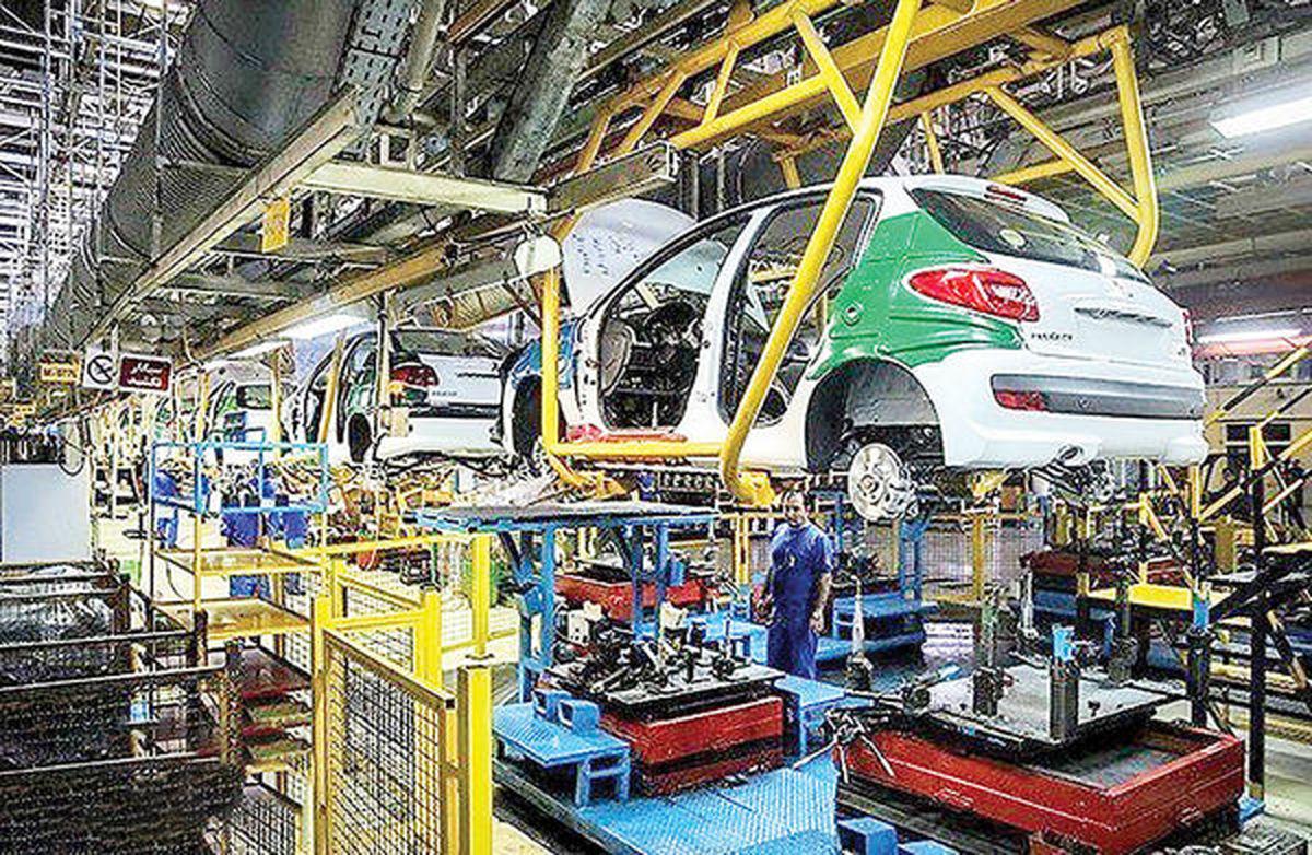تغییر وزن درآمدهای دولت از خودرو