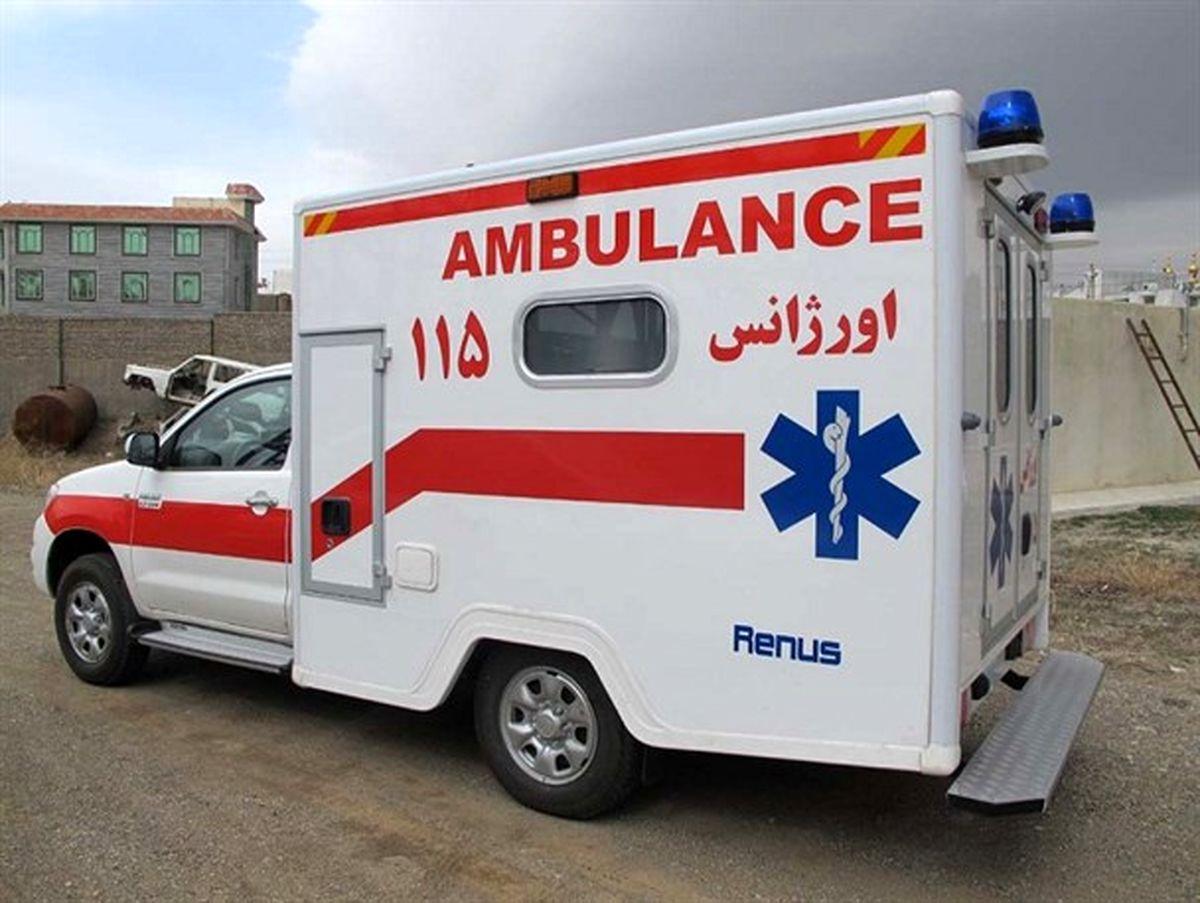 5مصدوم حریق کارخانه درجاده مخصوص به بیمارستان انتقال یافتند