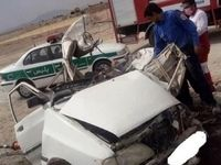 تصادف وحشتناک دو خودروی سواری