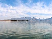 حجم آب دریاچه ارومیه ۷۴۰میلیون مترمکعب افزایش یافت