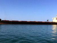 کشتی 72هزار تنی برزیلی در چابهار پهلو گرفت