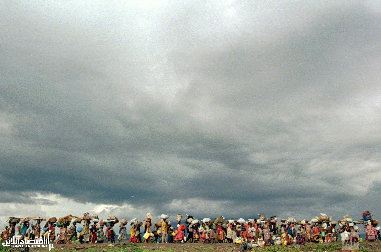 نسل کشی مردم روندا به روایت تصویر