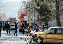 برخورد اتوبوس شهری با چند خودرو و عابر در اسلامشهر