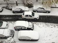 ترافیک سنگین در برخی نقاط تهران +اسامی خیابانها