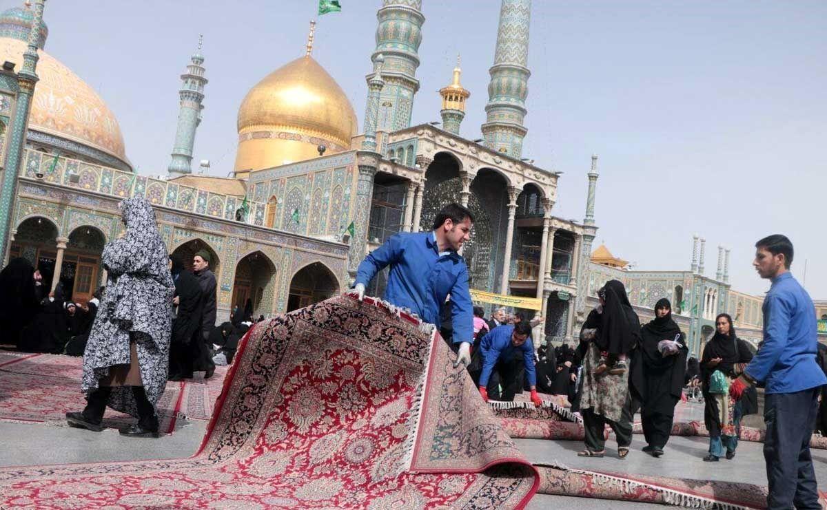 شبهای قدر بدون حضور زائران در حرم بانوی کرامت برگزار میشود