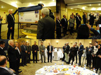 رونمایی از تمبر بانک ایران زمین به مناسبت سالگرد تاسیس بانک
