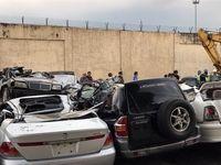 خودروهای لوکس قاچاق در فیلیپین اوراق شدند+ عکس