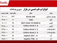 قیمت لپ تاپ لمسی در بازار +جدول