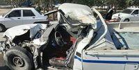 بر اثر تصادف جادهای 6نفر کشته و 3نفر مصدوم شدند