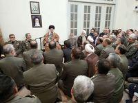 دیدار فرماندهان ارشد ارتش با فرمانده کل قوا +عکس