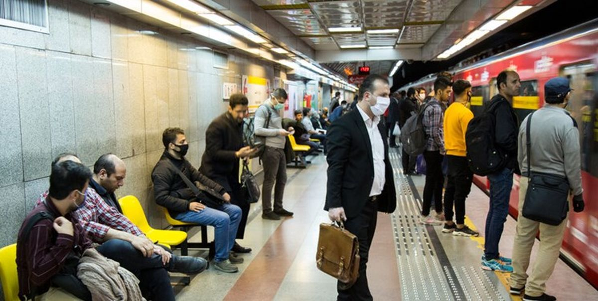 تعلل ستاد مقابله با کرونا برای جلوگیری از شیوع ویروس در مترو تهران