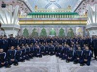 تجدید پیمان فرماندهان ارتش با آرمانهای امام خمینی (ره) +عکس