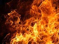آتش سوزی اتوبوس حامل زائران کربلا در اندیمشک