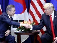 ترامپ و مون درباره خلع سلاح هستهای گفت و گو کردند