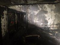آتشسوزی در ساختمان یک مسافرخانه در تهران