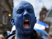 راهپیمایی جداییطلبان در اسکاتلند +تصاویر