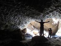 برف تابستانی در آلپ ایران +تصاویر