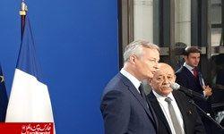 رایزنی دولت فرانسه با شرکتهای فعال در ایران