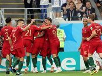گل پرتغال به تیم ملی ایران در دقیقه ۴۵