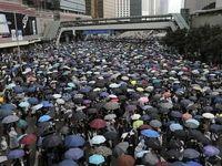 ادامه تظاهرات در هنگ کنگ +فیلم