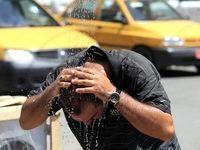 گرمای ۵۰ درجه در خوزستان به روایت تصویر