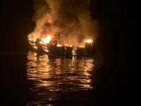 34 نفر در قایق غواصی سوختند +تصاویر