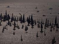 بزرگترین مسابقه قایقرانی در جهان +عکس