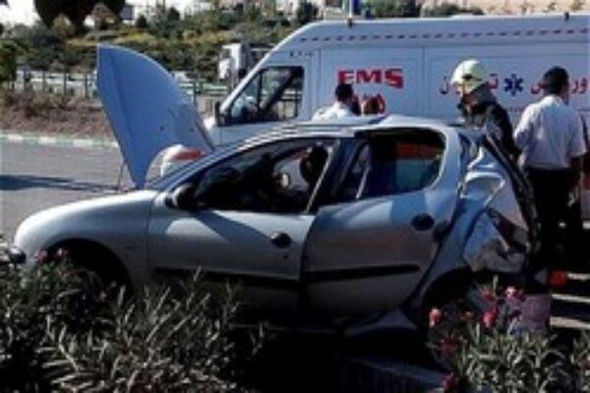 سانحه رانندگی ۳کشته برجا گذاشت