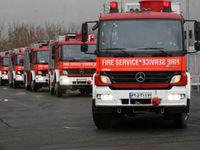 آتشسوزی در ساختمان پنج طبقه و نجات ۴۰ تن