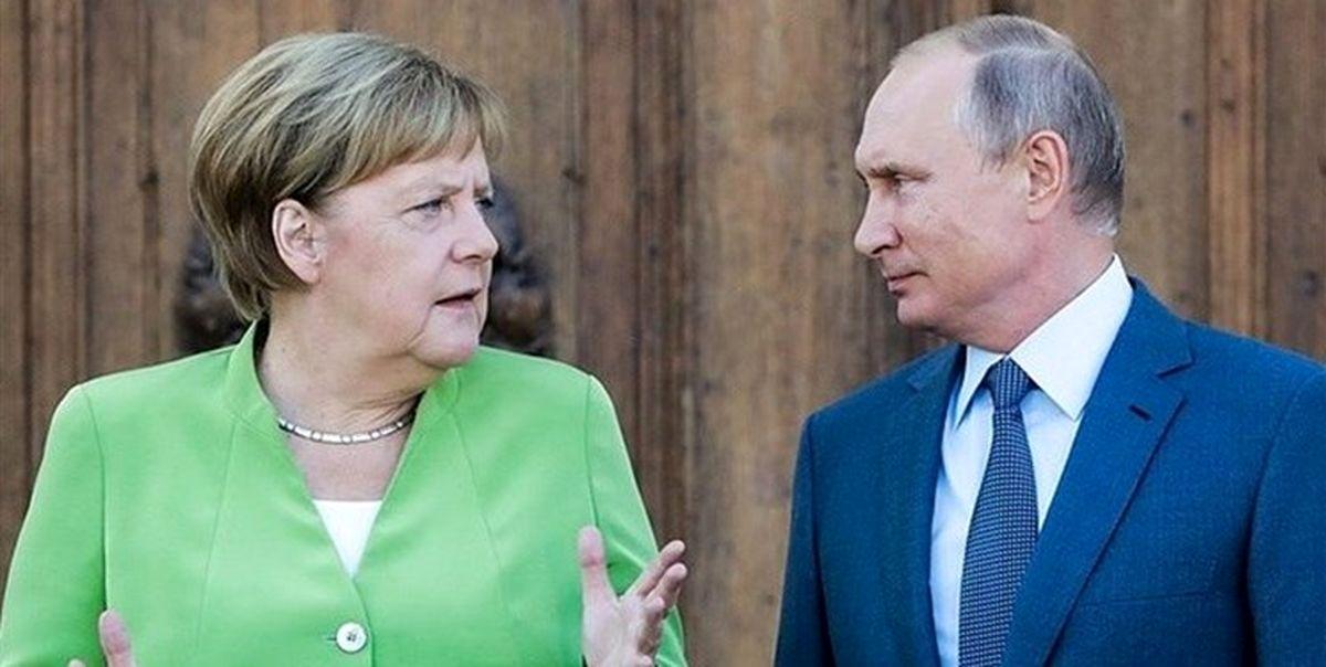 آلمان به دنبال تحریم روسیه است