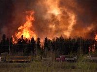 توقف تولید نفت در کانادا به دلیل آتشسوزی