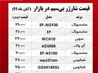 قیمت روز انواع شارژر بیسیم +جدول