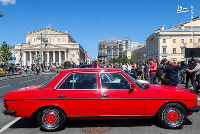 دورهمی خودرویهای کلاسیک در روسیه