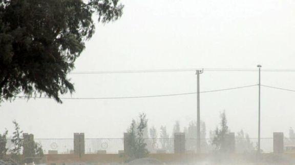 وزش باد نسبتا شدید در تهران
